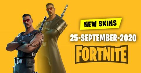 Fortnite Skins Today's Item Shop 25 September 2020