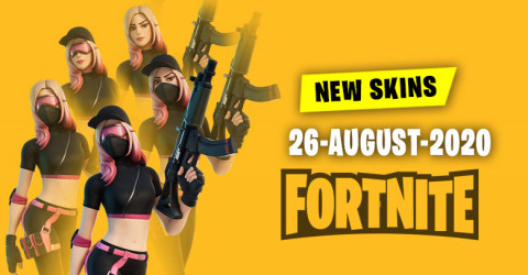 Fortnite Skins Today's Item Shop 26 August 2020