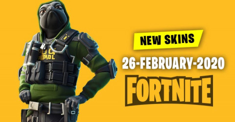 Fortnite Skins Today's Item Shop 26 February 2020