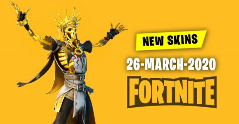 Fortnite Skins Today's Item Shop 26 March 2020