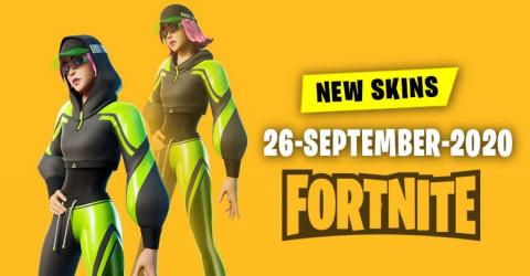 Fortnite Skins Today's Item Shop 26 September 2020