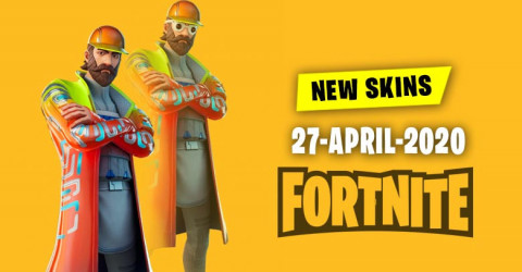 Fortnite Skins Today's Item Shop 27 April 2020
