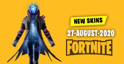 Fortnite Skins Today's Item Shop 27 August 2020