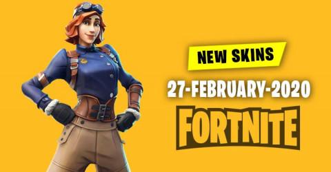 Fortnite Skins Today's Item Shop 27 February 2020