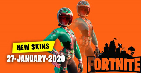 Fortnite Skins Today's Item Shop 27 January 2020