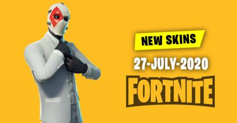 Fortnite Skins Today's Item Shop 27 July 2020