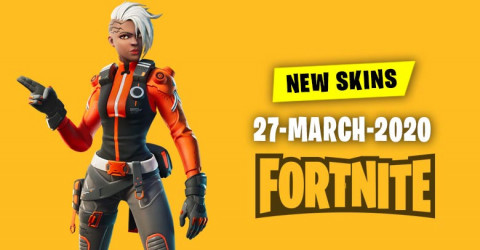 Fortnite Skins Today's Item Shop 27 March 2020