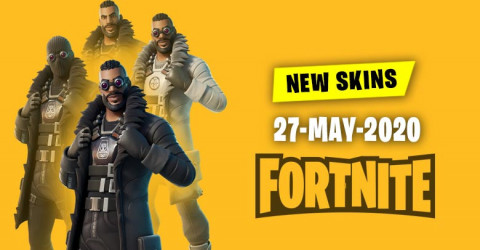 Fortnite Skins Today's Item Shop 27 May 2020