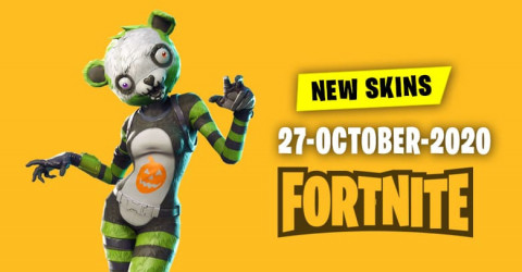 Fortnite Skins Today's Item Shop 27 October 2020