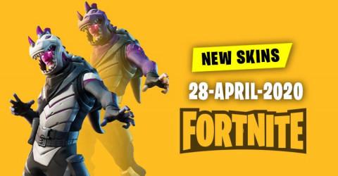 Fortnite Skins Today's Item Shop 28 April 2020