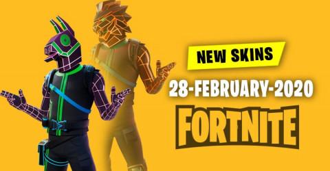 Fortnite Skins Today's Item Shop 28 February 2020