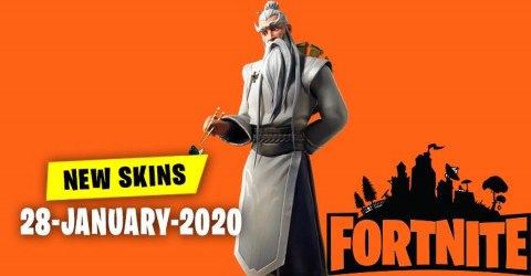 Fortnite Skins Today's Item Shop 28 January 2020