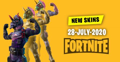 Fortnite Skins Today's Item Shop 28 July 2020