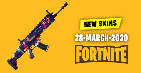 Fortnite Skins Today's Item Shop 28 March 2020