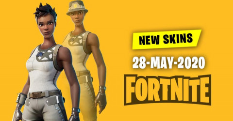 Fortnite Skins Today's Item Shop 28 May 2020