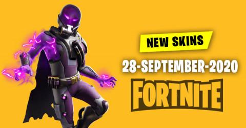 Fortnite Skins Today's Item Shop 28 September 2020
