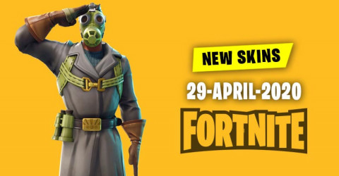 Fortnite Skins Today's Item Shop 29 April 2020