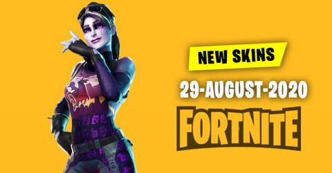 Fortnite Skins Today's Item Shop 29 August 2020