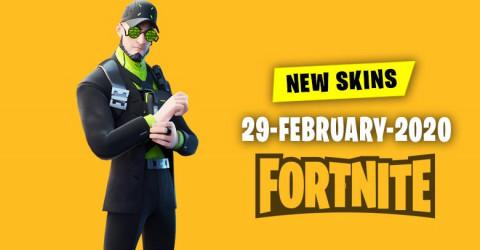 Fortnite Skins Today's Item Shop 29 February 2020