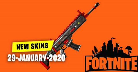 Fortnite Skins Today's Item Shop 29 January 2020