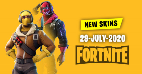 Fortnite Skins Today's Item Shop 29 July 2020