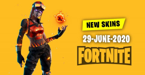 Fortnite Skins Today's Item Shop 29 June 2020