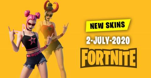 Fortnite Skins Today's Item Shop 2 July 2020