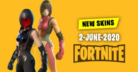 Fortnite Skins Today's Item Shop 2 June 2020