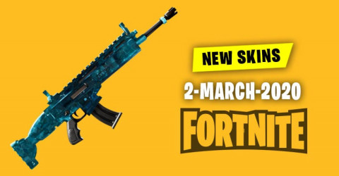 Fortnite Skins Today's Item Shop 2 March 2020