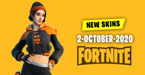 Fortnite Skins Today's Item Shop 2 October 2020