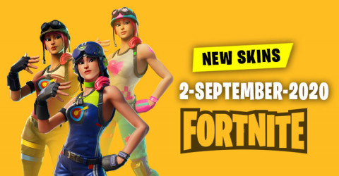 Fortnite Skins Today's Item Shop 2 September 2020