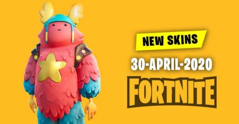 Fortnite Skins Today's Item Shop 30 April 2020