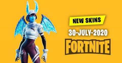 Fortnite Skins Today's Item Shop 30 July 2020