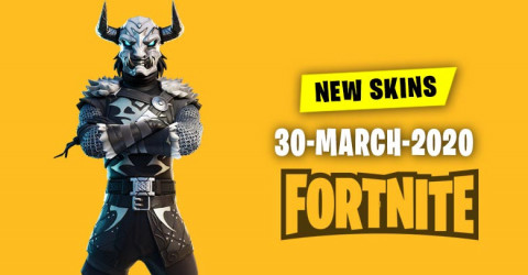 Fortnite Skins Today's Item Shop 30 March 2020