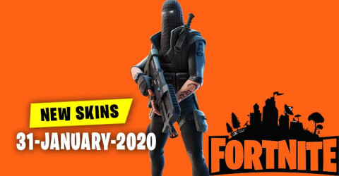 Fortnite Skins Today's Item Shop 31 January 2020