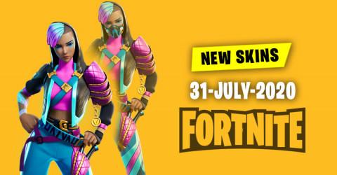 Fortnite Skins Today's Item Shop 31 July 2020