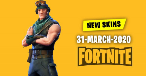Fortnite Skins Today's Item Shop 31 March 2020
