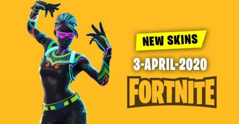 Fortnite Skins Today's Item Shop 3 April 2020
