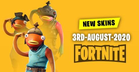 Fortnite Skins Today's Item Shop 3 August 2020