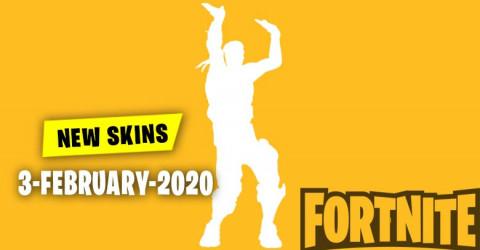 Fortnite Skins Today's Item Shop 3 February 2020