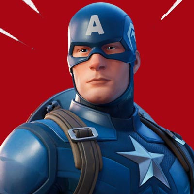 Captain America | Fortnite - zilliongamer