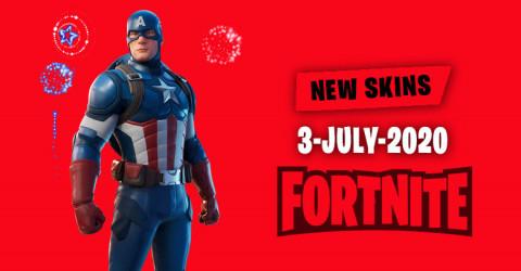 Fortnite Skins Today's Item Shop 3 July 2020