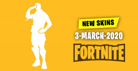 Fortnite Skins Today's Item Shop 3 March 2020