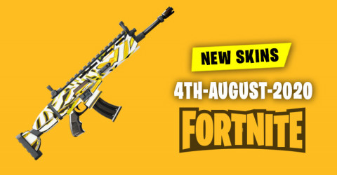 Fortnite Skins Today's Item Shop 4 August 2020
