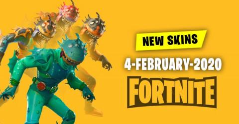 Fortnite Skins Today's Item Shop 4 February 2020