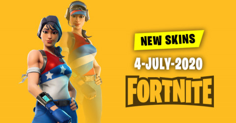 Fortnite Skins Today's Item Shop 4 July 2020