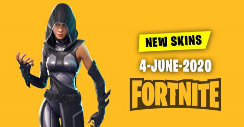 Fortnite Skins Today's Item Shop 4 June 2020