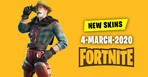 Fortnite Skins Today's Item Shop 4 March 2020