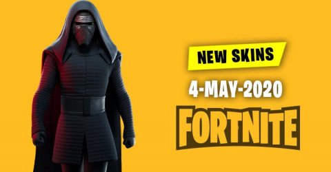 Fortnite Skins Today's Item Shop 4 May 2020