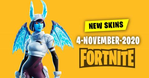 Fortnite Skins Today's Item Shop 4 November 2020